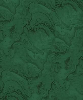 Lulu & Georgia Green Marble Wallpaper Mural by Sarah Sherman Samuel