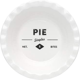 Ecology Staples Foundry Pie Dish, Shallow, 13cm