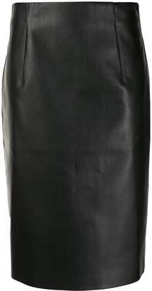 Piazza Sempione straight-fit midi skirt