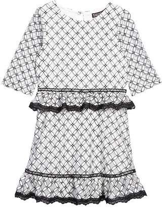 Trixxi Tiered Lace Dress (Big Girls)