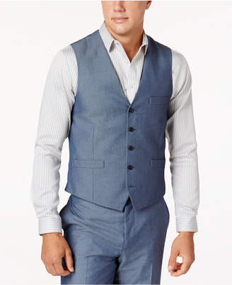 INC International Concepts I.n.c. Men's Chambray Suit Vest