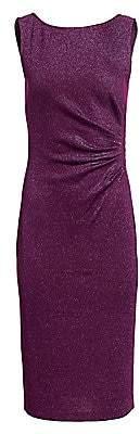 St. John Women's Evening Milano Knit Lurex Sheath Dress