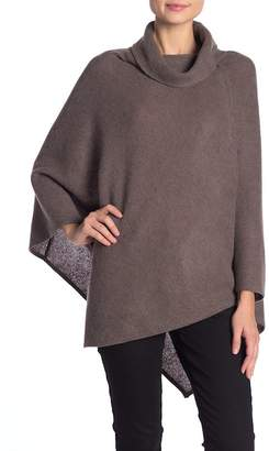 Magaschoni M BY Cowl Neck Cashmere Poncho