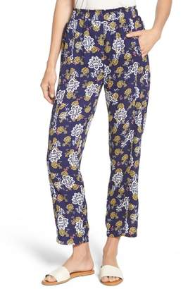 Bobeau Print Pull-On Pants