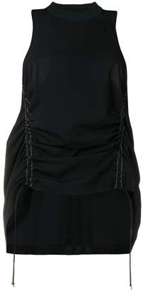 Y-3 A-line style top