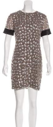 Diane von Furstenberg Embellished Cindy Dress