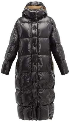 Moncler Parnaiba Down Filled Coat - Womens - Black Multi