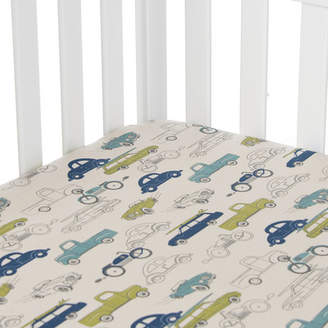 Glenna Jean Sweet Potato By Uptown Traffic Fitted Crib Sheet