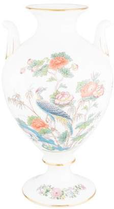 Wedgwood Kutani Crane Urn-Shaped Vase