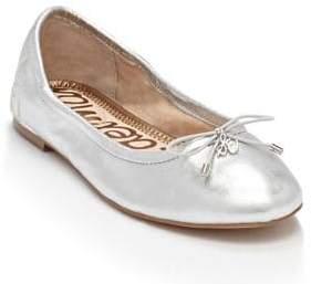 Sam Edelman Felicia Metallic Leather Ballet Flat
