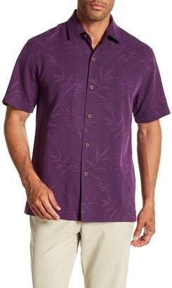 Tommy Bahama Luau Floral Short Sleeve Original Fit Silk Shirt