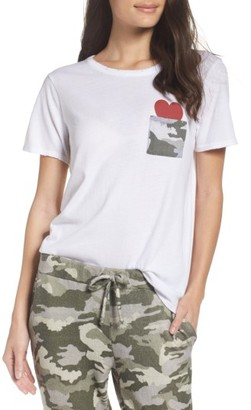 Women's Chaser Pocket Of Love Lounge Tee $59 thestylecure.com