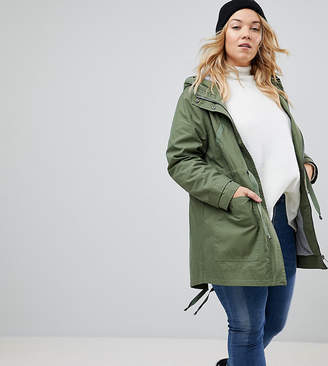 Asos Summer Parka With Jersey Lining