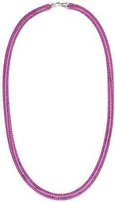 Swarovski x Christopher Kane Skinny Bolster Necklace, 32.8""