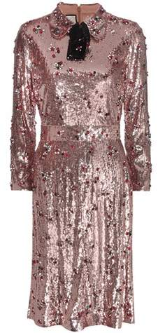 Gucci Sequin-embellished dress