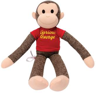 Schylling Kohl's Curious George Sock Monkey