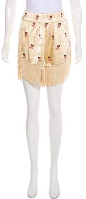 Ganni Donnelly High-Rise Shorts