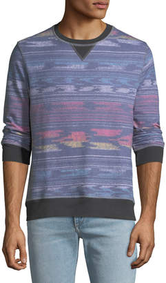 Sol Angeles Men's Ikat Striped Sweatshirt