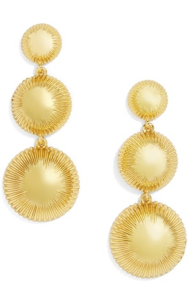 Fiona Drop Earrings $38 thestylecure.com