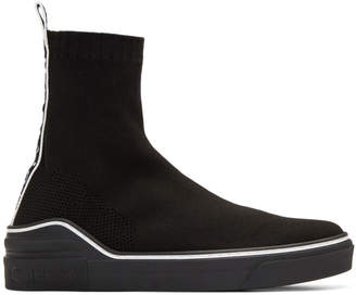 Givenchy Black George V Sock Sneakers