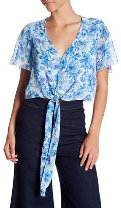 Show Me Your Mumu Tortuga Front Tie Top