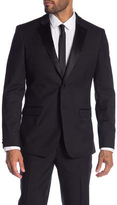 14th & Union Extra Trim Fit Notch Lapel Dinner Jacket