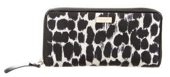 Kate Spade Kate Spade New York Neda Lindenwood Leopard Wallet