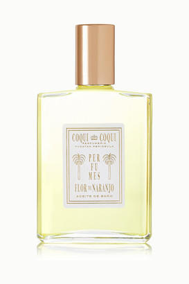 Coqui Orange Blossom Bath Oil, 100ml - Colorless