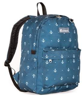 Everest Classic Pattern Backpack, Anchor, One Size