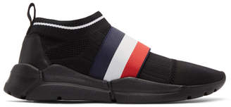 Moncler Black Adon Sneakers