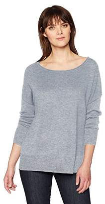 NYDJ Women's Long Sleeve Sweater with Exposed Seams