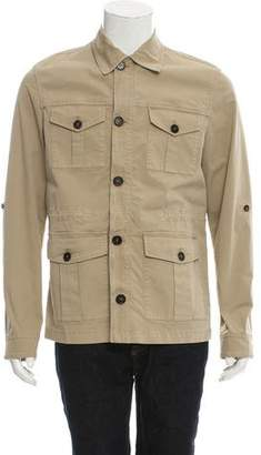 Michael Bastian Woven Safari Jacket w/ Tags