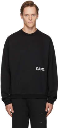 Oamc Black Noise Sweatshirt