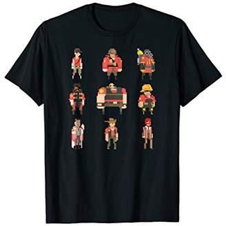 "Team Fortress 2 ""Team Fortress Pixel"" t-shirt - TRS008"