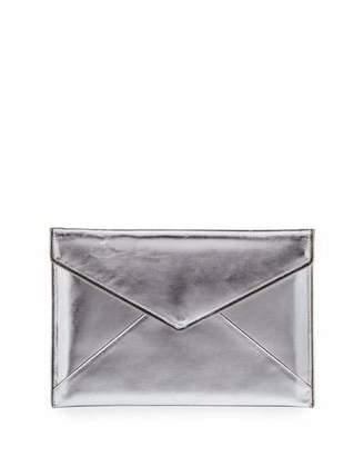 Rebecca Minkoff Leo Metallic Envelope Clutch Bag/Tech Sleeve