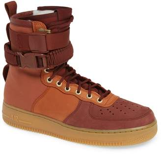Nike SF AF1 Genuine Shearling Lined Sneaker Boot