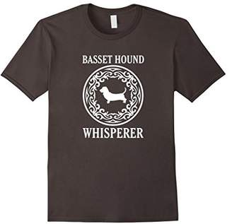 Basset Hound Whisperer T Shirt -Funny Dog Lover T Shirts