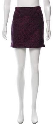 Diane von Furstenberg Kawa Brocade Skirt