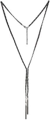 BCBGeneration Chain Tassel Pendant Y Necklace