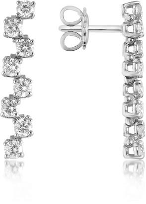 Forzieri 1.06 ctw Drop Diamond 18K Gold Earrings