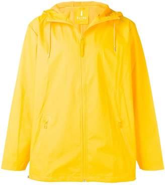 Rains hooded raincoat