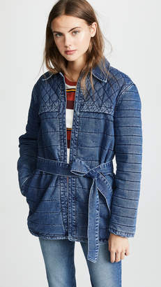 Frame Quilted Jacket