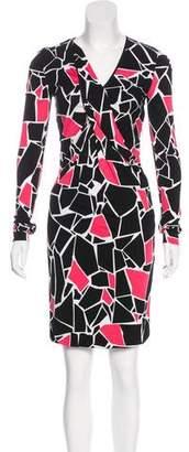 Gucci Printed Knee-Length Dress