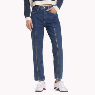 Tommy Hilfiger High Rise Tapered Fit Jean