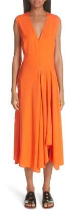 Zero Maria Cornejo Wave Side Drape Dress
