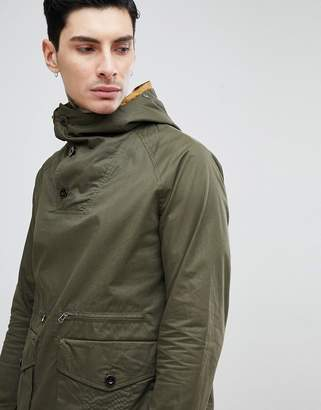 Pretty Green Blyth Over Head Jacket In Khaki