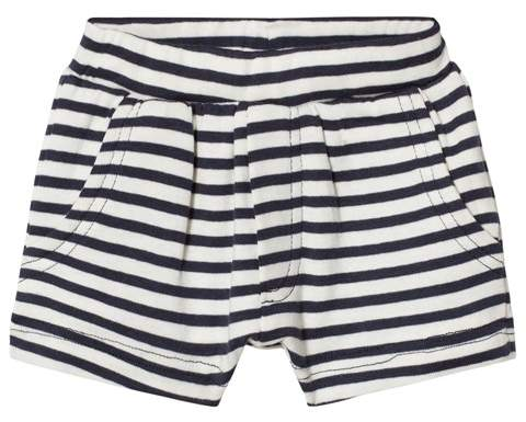 Wheat Navy Stripe Aske Shorts
