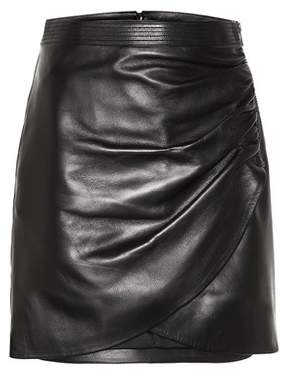 Givenchy Leather miniskirt