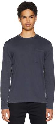 Vince Single Pocket Crew Neck Sweater Men's Sweater