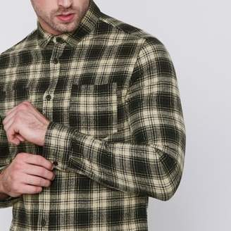 River Island Mens Green Only and Sons check print shirt